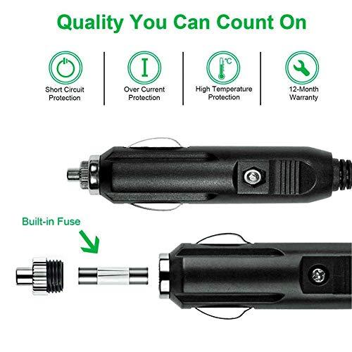 Caricabatteria da Auto, 5 Porte USB (45W/9A Max, 2.4A Max per Porta) Tecnologia iSmart,...
