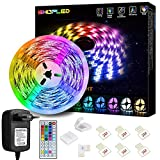 LED Strip Lichtband 5M, SHOPLED RGB SMD 5050 LED...