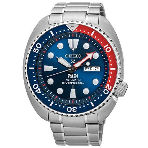 Orologio Seiko Prospex Padi Diver's 200 m automatico e acciaio, quadrante blu, SRPE99K1