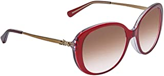 Sunglasses Coach HC 8215 F 538313 Red