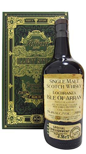 Arran distillery - ARRAN SMUGGLERS' SERIES VOLUME I WHISKY THE ILLICIT STILLS' VOL. 56,4% CL.70