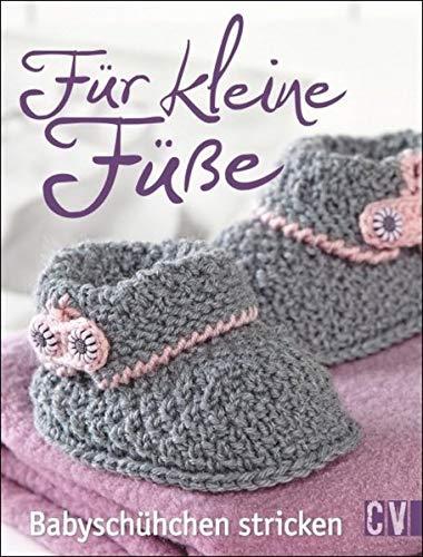 Für kleine Füße: Babyschühchen stricken