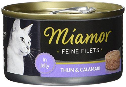 Miamor Feine Filets Thun & Calamari 24x100g