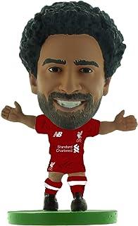 SoccerStarz Liverpool Mohamed Salah Home Kit (2019 Version) /Figures, Green, SOC1317