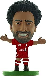 SoccerStarz SOC1317 Liverpool Mohamed Salah Home Kit (2019 Version) (New Sculpt) /Figures, Green