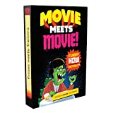 Movie Meets Movie! The Mashup Movie Game - Combine Movie Plots, Trivia and Quotes - Party Card Game for Ages 13+