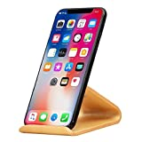 SAMDI Wood Cell Phone Stand for iPhone 5 6 7 8 X Plus, LG, Huawei, XiaoMi, Samsung Galaxy S5 S7 S6 - (White Birch)