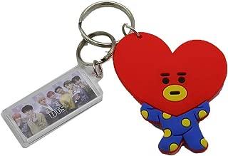 BTS Bangtan Boys Kpop Key Chain Character Key Ring Gift (TATA)