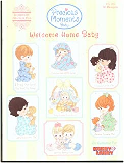 Precious Moments Welcome Home Baby Cross Stitch Book