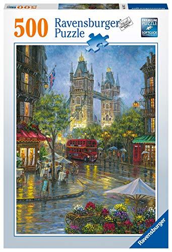 Ravensburger Puzzle 14812 - Malerisches London - 500 Teile Puzzle für Erwachsene und Kinder ab 10 Jahren, Puzzle mit London-Motiv