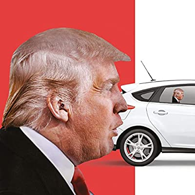 Donald Trump Decals Car Stickers Funny Window ?Easy Removal Leaves No Residue(Right))