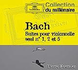 Bach : Suites pour violoncelle seul n° 1, 2 et 5