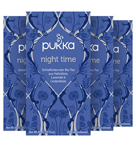 Pukka Bio-Tee Night Time 80 Teebeutel, 4er Pack (4 x 20 beutel)