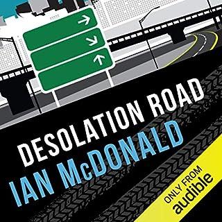 Desolation Road audiobook cover art