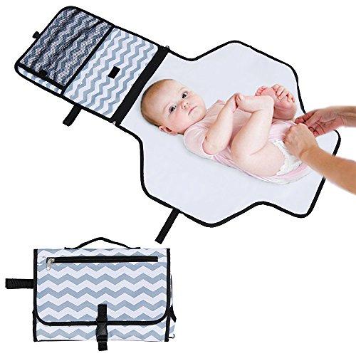 Rovtop Cambiador Portátil de Pañales para el bebé Kit Cambiador de Viaje...
