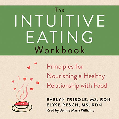 The Intuitive Eating Workbook cover art