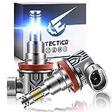 TECTICO H8 40w 12v 8000K LED Angel Eye Halo anello faro Luce abbagliante/anabbagliante Blu ghiaccio senza errori per E90 E92 E93 E82 E91 E82 E70 X5 E60 E61,2 pezzi