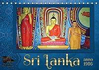 Sri Lanka anno 1986 (Tischkalender 2022 DIN A5 quer): Analoge Fotografie (Monatskalender, 14 Seiten )
