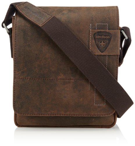 Strellson Herren Schultertasche Richmond Tasche aus Leder