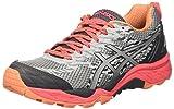 Asics Gel-Fujitrabuco 5, Zapatillas de Correr Mujer, Gris (Midgrey/silver/diva Pink), 37.5 EU