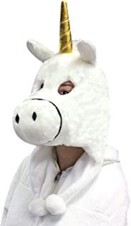 Flurry Friends Adult Plush Animal Head Mask Costume Hat Cap - Over 20 Styles!