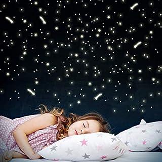 Wandkings 252 Sterne und Sternschnuppen für Sternenhimmel, extra starke Leuchtkraft, Wandsticker Leuchtaufkleber, Fluoreszierend und im Dunkeln leuchtend (B00BZAZNCY) | Amazon price tracker / tracking, Amazon price history charts, Amazon price watches, Amazon price drop alerts