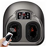 Arealer Foot Massager Machine with Heat, Shiatsu Foot Massagers with Remote...