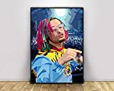 wopiaol Kein Rahmen Lil Pump Pop Art Rapper Musik Sänger
