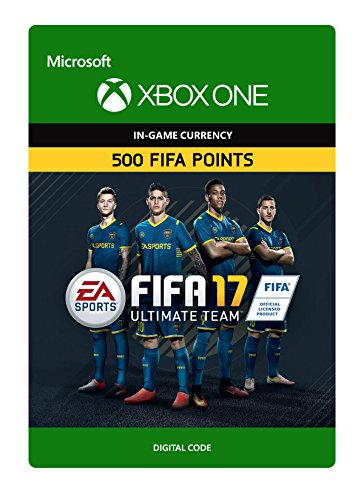 FIFA 17 Ultimate Team FIFA Points 500 - Xbox One Digital Code
