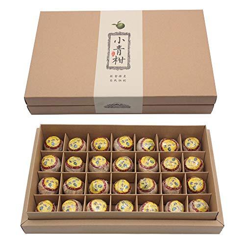 Xiao Qing Gan Green Orange Puerh Ripe Tea - 28 pcs in a gift box