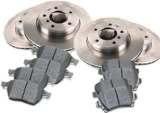 OE Replacement Direct Fit Brake Kit Compatible for 2009-2011 HYUNDAI GENESIS SEDAN Sedan - 4.6L V8 Front and Rear Brake Pads and Brake Rotors