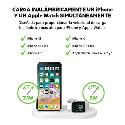 Belkin PowerHouse, Base de Carga Inalámbrica para Apple iPhone 11 ...