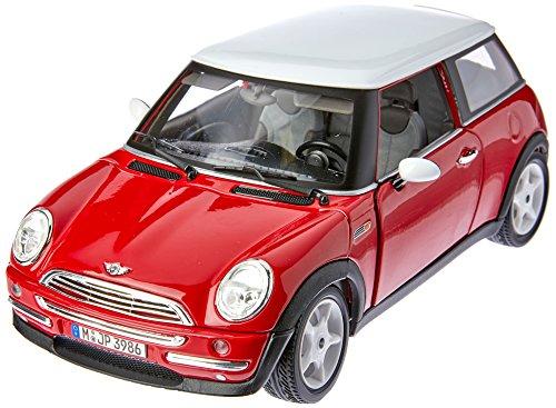 BBurago - 8-12034 - Voiture sans pile - Reproduction - Mini Cooper (2001) - échelle 1/18 - Coloris aléatoire