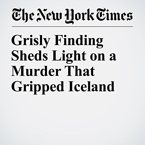 Grisly Finding Sheds Light on a Murder That Gripped Iceland copertina