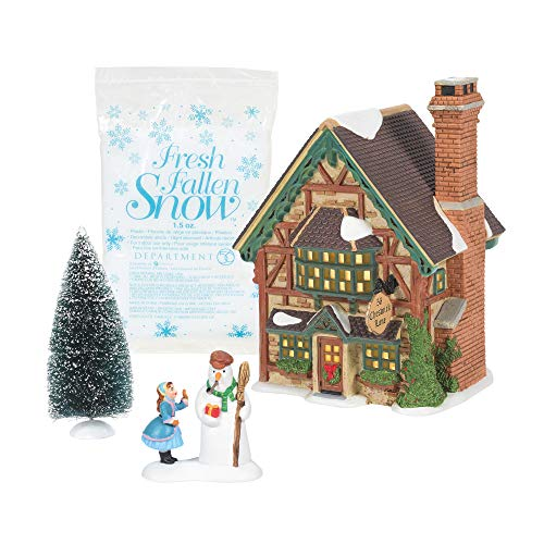 Department 56 Dickens' Village, Building Christmas Cheer Holiday Special Set of 4