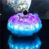 HUJIN Luz de Noche de Nubes de Astronauta Creativo con Control Remoto Regalo de Lámpara de Nubes Led para Niños Adultos