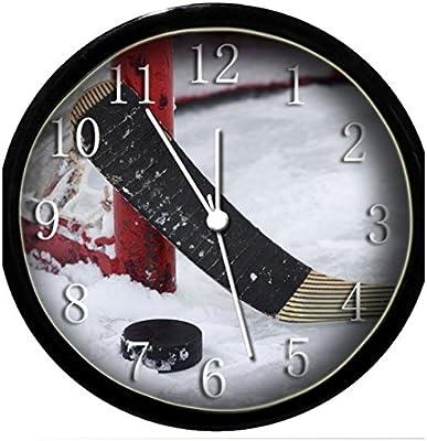 Glow In the Dark Wall Clock - Hockey #4