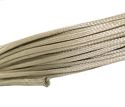 AERZETIX: 2 Meter Kabelmantel 10 – 16 mm geflochten Kupfer verzinnt 24 x 8 x 0,2 mm C17639