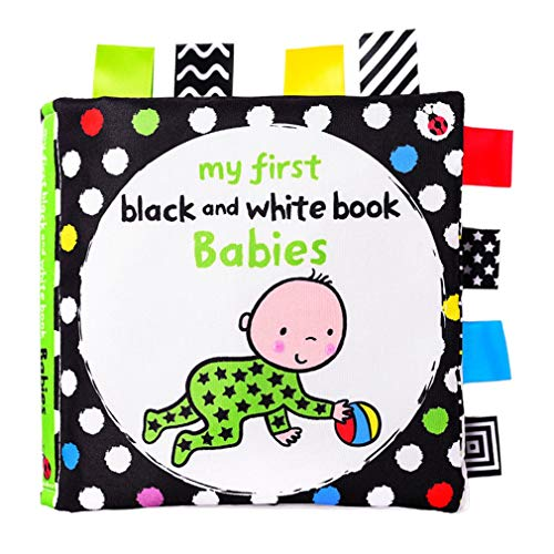 Baby Vroege opvoeding Leren stoffen boek Babyspeelgoed Zwart-wit label Visueel stoffen boek Stil boek Babystijl Multicolor