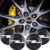Tapacubos de 56 mm, 4 unidades, para Opel Zafira A, B, Astra H, G, J, K, F, Mokkka, Corsa, B, C, Vectra, Insigno