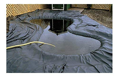Ubbink Teichfolie Fischteich Koiteich Folie AquaLiner 2x3m PVC 0,5mm 1331165