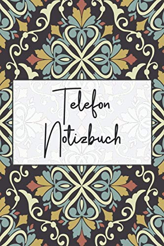 Telefon Notizbuch: Gesprächsnotizbuch und Telefnonotizblock mit 100+ Seiten