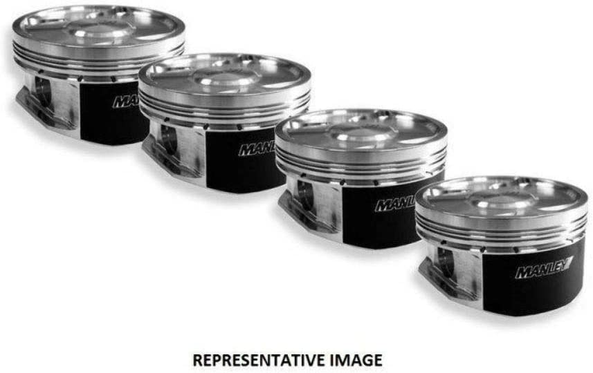 Manley 610100-4 Dome Max 58% OFF Piston with Luxury Set Rings