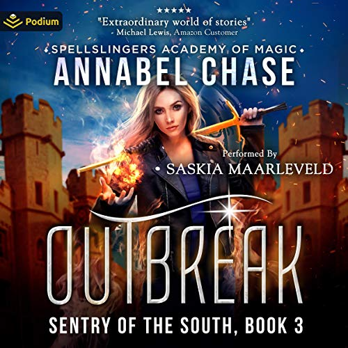 Outbreak Audiobook By Annabel Chase cover art