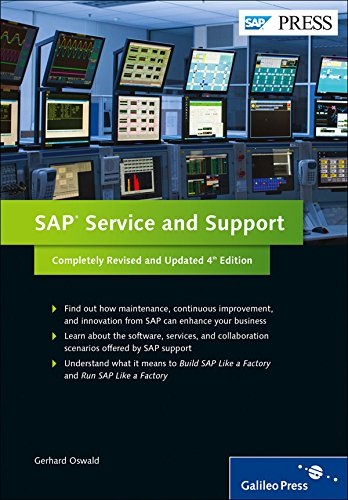 SAP Service and Support: Innovation and Continuous Improvement (SAP PRESS: englisch)