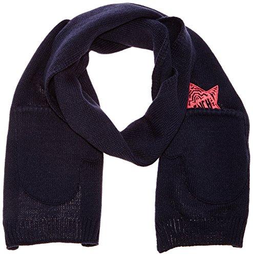 Bench Mädchen Mütze, Schal & Handschuh-Set Schal Toeloop Scarf blau (Total Eclipse) M/L