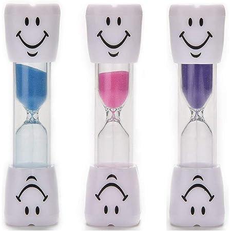 Momorain 2 Minutes sablier Enfants brosser Deux Minutes Mini minuterie cr/éative exquise Petits Cadeaux