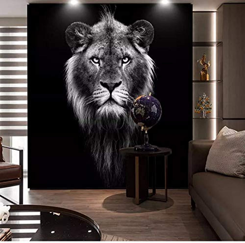 tiempo libre Yssyss Yssyss Yssyss Papel Tapiz 3D Tigre blancoo Negro Mural Adecuado Para Sala De Estar Habitación De Los Nios Dormitorio Parojo Decoración Del Hogar Mural-200(H)140(W) Cm  Nuevos productos de artículos novedosos.