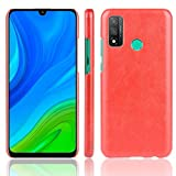 Zhangl Fundas Huawei For Huawei P Elegante de la Caja de la PU + a Prueba de Golpes Litchi Textura PC 2020 / Nova Lite 3+ Fundas Huawei (Color : Red)