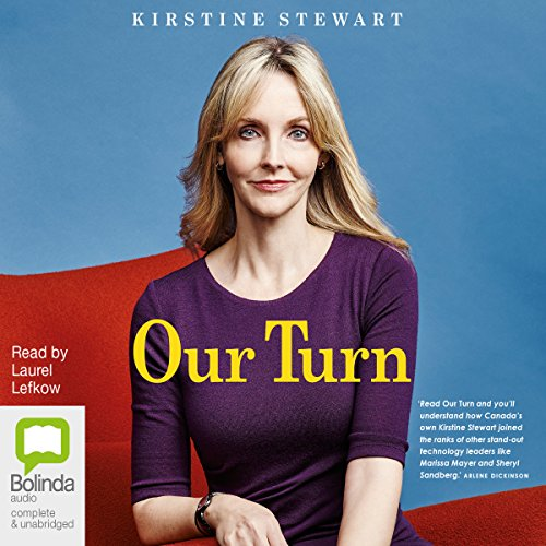 Our Turn                   By:                                                                                                                                 Kirstine Stewart                               Narrated by:                                                                                                                                 Laurel Lefkow                      Length: 5 hrs and 58 mins     Not rated yet     Overall 0.0